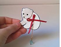 Odznaky/Brošne - medvieďa polárne - 10215149_