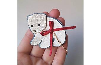 Odznaky/Brošne - medvieďa polárne - 10215147_