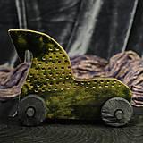 Dekorácie - RAKU koník - 10214036_