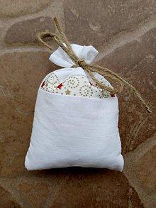 Dekorácie - Vianočné vrecúško 11 - 10214019_
