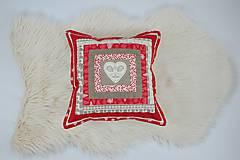 Úžitkový textil - Návliečka na vankúš scandi jelenia hlava - 10212711_