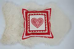 Úžitkový textil - Návliečka na vankúš scandi jelenia hlava - 10212712_