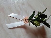 Pierka - krušpánové svadobné pierka - 10213874_