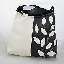 Kabelky - BLACK and WHITE - eco kůže - bílá - PARROT® - 10214607_