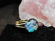 Prstene - dear opal in gold-ring - 10216202_