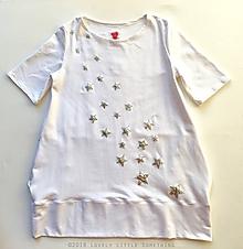 """Šaty - Mikinošaty """"Silver Stars"""" - 10213558_"""