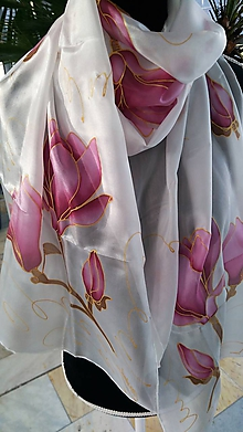 Šatky - magnolie - 10214303_