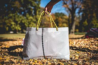Veľké tašky - Úsmev ako dar - DORKA bag (Nebeská retiazka) - 10212424_