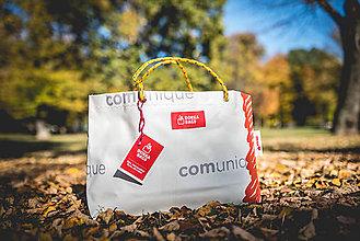 Veľké tašky - Úsmev ako dar - DORKA bag (Komunikačné fľaky) - 10212426_
