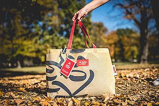 Veľké tašky - Úsmev ako dar - DORKA bag (Košická žltá) - 10212428_
