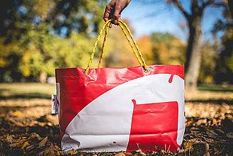 Veľké tašky - Úsmev ako dar - DORKA bag (Muchotrávka) - 10212435_