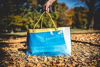 Veľké tašky - Úsmev ako dar - DORKA bag (Ruka na hladine) - 10212448_