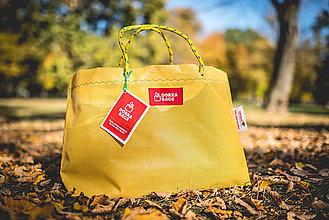 Veľké tašky - Úsmev ako dar - DORKA bag (Slnce) - 10212451_
