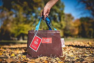 Veľké tašky - Úsmev ako dar - DORKA bag mini (Mini desiatová) - 10212457_