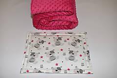 Textil - Deka,vankúšik*medvedík Teddy* - 10215523_