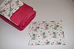 Textil - Deka,vankúšik*medvedík Teddy* - 10215524_