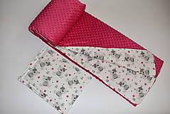 Textil - Deka,vankúšik*medvedík Teddy* - 10215526_