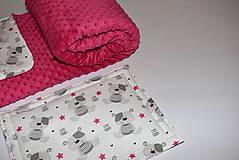 Textil - Deka,vankúšik*medvedík Teddy* - 10215535_