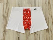 Oblečenie - Vianočné boxerky - 10213667_