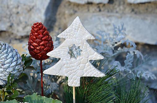 Stromek bílý II. ....zápich do květináče