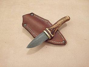 Nože - Damaškový hubársky nožík - 10215472_