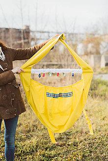 Textil - hačka indiánska žltá - 10215537_