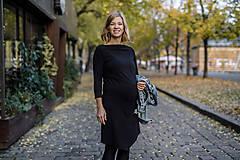 Šaty - Šaty CIK-CAK na dojčenie - 10213326_