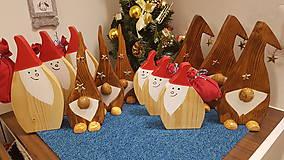 Dekorácie - Vianočný škriatkovia. - 10215003_