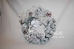 Dekorácie - vianočný veniec - 10213544_