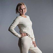 Pyžamy a župany - BIO dámské pyžamo - 10216028_