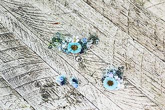 """Ozdoby do vlasov - Kvetinový set """"dotknúť sa oblohy"""" - 10215899_"""