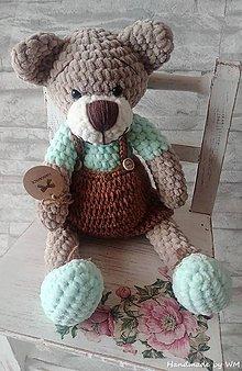 Hračky - Medvedík v nohaviciach - 10213107_