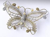 Odznaky/Brošne - Brož Motýl - 10215022_