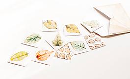 Papier - Samolepka set