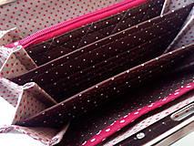 Peňaženky - Peňaženka s priehradkami Mačky - 10212672_