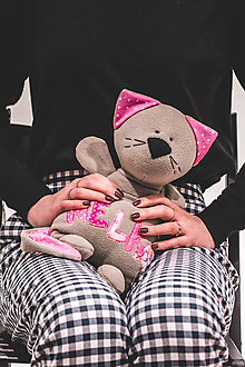 Hračky - Mačiatko s menom - 10213748_