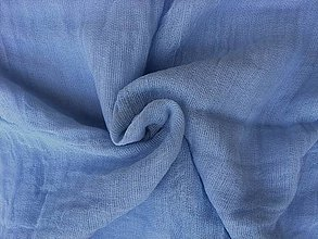 """Šály - """"blue"""" bavlnený šál skladom:-) - 10214984_"""