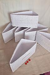 Košíky - Boxy atypické bez košieľky WANDA /  ks - 10214026_