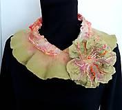 Vlnený šál - golier