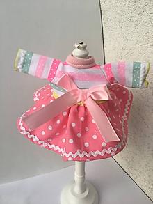 Hračky - Šatočky pre bábiky- 25-27 cm - 10214730_