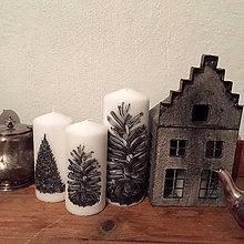 """Svietidlá a sviečky - Sviečka """"šiška"""" malá - 10217257_"""