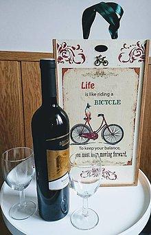 "Krabičky - Box na víno ""Bicykel"" - 10218570_"