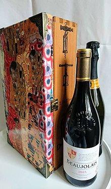 """Krabičky - Box na 2 vína """"Objatie"""" - IHNEĎ K ODOSLANIU !!! - 10218589_"""