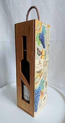 """Krabičky - Box na víno """"Bordeaux"""" - IHNEĎ K ODOSLANIU !!! - 10218649_"""