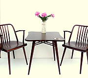 Nábytok - Nadčasový retro stolík - 10219543_