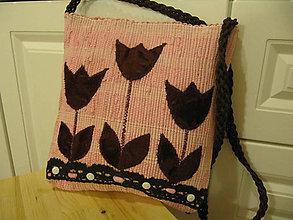 Veľké tašky - TKANÁ TAŠKA - 10218813_