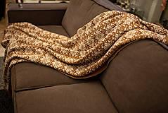 Veľká pletená deka