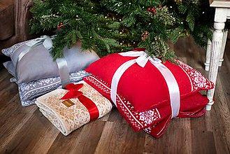Úžitkový textil - Obývačkový set Deka a Vankúše, OEKO-TEX® - 10217176_