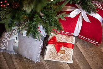 Úžitkový textil - Obývačkový set Deka a Vankúše, OEKO-TEX® (Béžová) - 10217441_