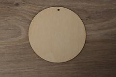 Dekorácie - Závesný kruh 10cm - 10217411_